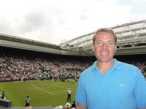 Christoph Kleinbeck Centre Court Wimbledon_2014