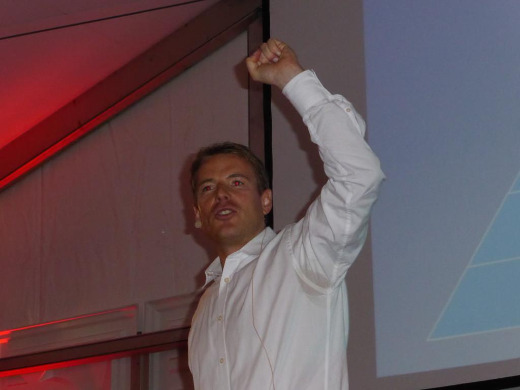 Christoph Kleinbeck Vortrag Weissenhof Turnier Stuttgart